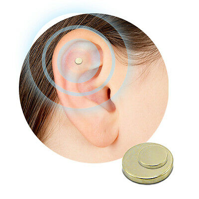 Quit Smoking Stop Smoke Ear Auricular Magnet Therapy Acupressure Healthy Care BL