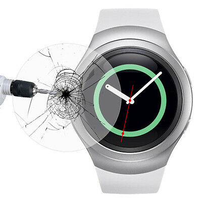 Tempered Glass LCD Screen Protector For Samsung Galaxy Gear S2 Classic SM-R7320