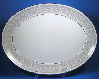 "Imperial W. Dalton WHITNEY 16"" Large Oval Serving Platter Nice"