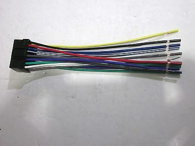new wire harness for sony cdx m3di • 11 47 picclick sony cdx gt10m wire harness new ob2