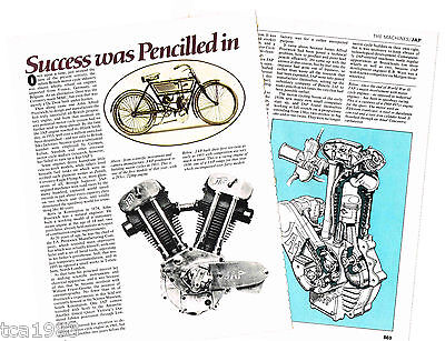 Old JAP (UK) MOTORCYCLE ENGINE Article / Photos / Pictures