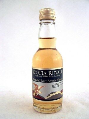 Miniature @ 1979 SCOTIA ROYALE 12YO Scotch Whisky Isle of Wine