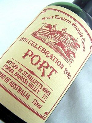 1980 ST HALLETTS Great Eastern Steeplechase Port A FREE SHIP Isle of Wine