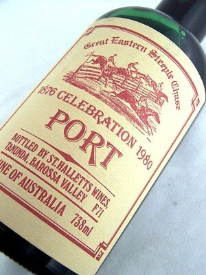 1980 ST HALLETTS Great Eastern Steeplechase Port B FREE SHIP Isle of Wine