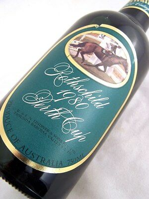 1977 Vintage Horse Port ROTHSCHILD 1980 PERTH CUP SERIES 1 FREESHIP Isle of Wine