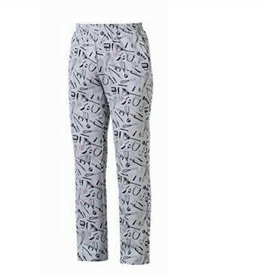 Pantaloni Coulisse Chefwear Cuoco Pizzaiolo Egochef Made In Italy Chef Pants