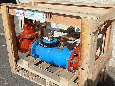 "Zurn 4-350Dalmnyc 4"" Double Check Backflow Preventer - Lead Free"
