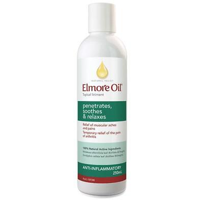 Best Price! Elmore Health Oil Back Neck Muscular Pain 250Ml Discount Chemist