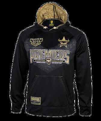 North Queensland Cowboys NRL 2015 Premiers Hoody Size S-5XL BNWT's!NEW