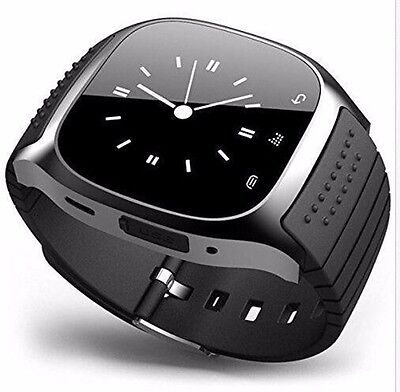 M26 Bluetooth Sport Intelligente Orologio Polso Per IOS Android Smart Watch Nero