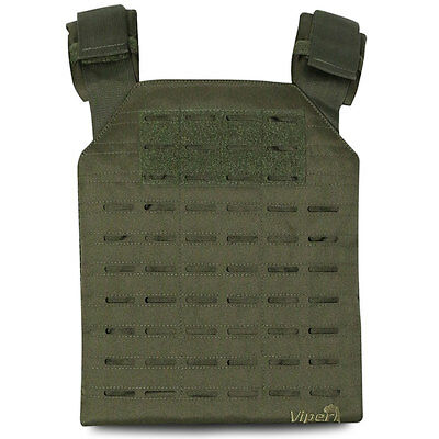 Viper Lazer MOLLE Airsoft Military Army Armour Plate Carrier Vest Rig Green NEW