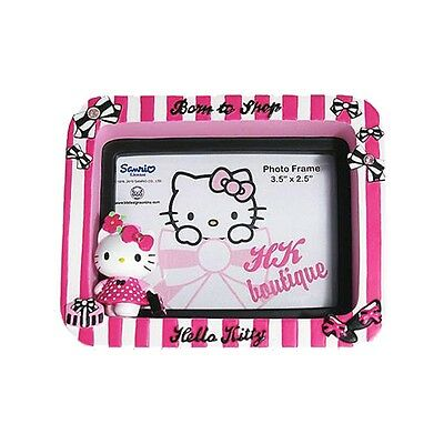 Hello Kitty 'born To Shop' Picture Photo Frame New & 100% Official