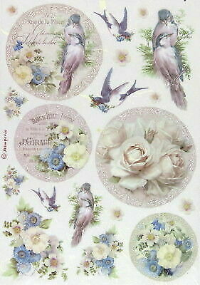 Rice Paper for Decoupage, Scrapbook Sheet, Craft Old England