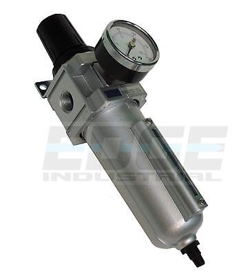 """Heavy Duty Filter Regulator Combo For Air Compressed Compressor Pneumatic, 1/2"""""""