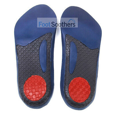 FootSoothers™ GelTec 3/4 Gel Orthotic Arch Support Insoles Inserts