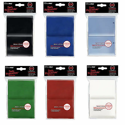 Lot of 1000 choose your colors Ultra Pro Deck Protector Sleeves Magic Size New