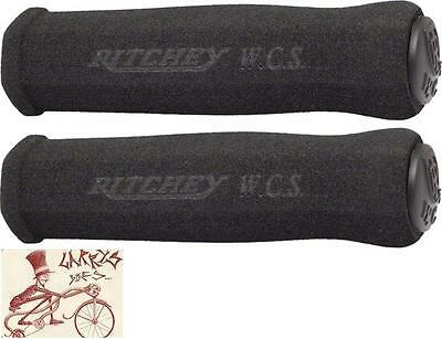Ritchey Wcs True Grip Foam Black Mtb Bicycle Grips