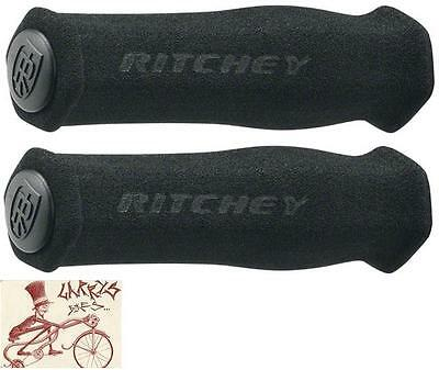 Ritchey Wcs Ergo Foam Black Mtb Bicycle Grips