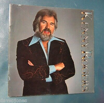 """KENNY ROGERS 1978 USA 16 page Tour Book / Program """"Love Or Something Like It"""""""