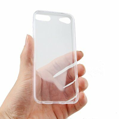 For Apple iPod Touch 6 Ultra-Thin Fingerprint-proof TPU Transparent Cover Case