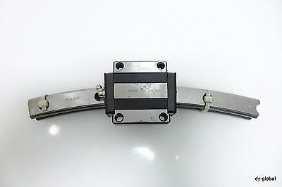 THK HCR25AUU+30/500R 1Rail 1Block Used Round Motion Curve LM Guide bearing