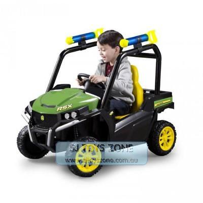 John Deere 6V Battery Operated Gator with Water Bazooka Ride On Boy Toy Christma