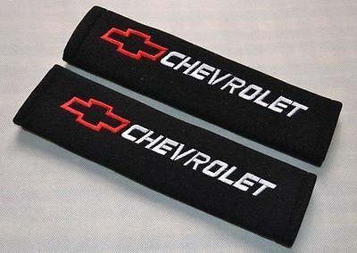Car Seat Belt Shoulder Pads Covers Cushion For CHEVROLET
