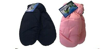 Toddler Kids Ski MITTENS THINSULATE GLOVES - Solid Colors