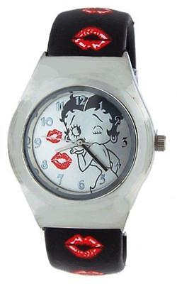 Betty Boop Bangle Braclet Wrist Watch Classic Betty Lips Brand New