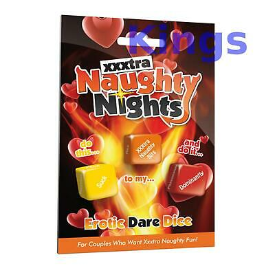 Naughty Nights Erotic Dare Dice Fun Party Games Naughty Sex Aid Romantic Game