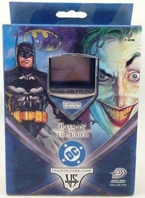 DC Comics VS System Batman vs The Joker 2 Player Starter Set 80 Cards Upper Deck