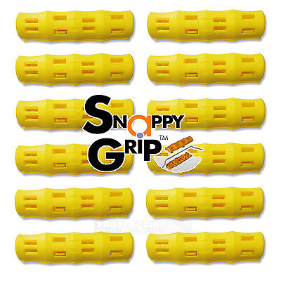 SNAPPY GRIP Egonomic Replacement Bucket YELLOW Handles 12 *new*