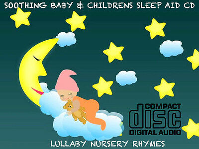 Children's Songs & Nursery Rhymes CD soothing baby sleep aid relax peaceful