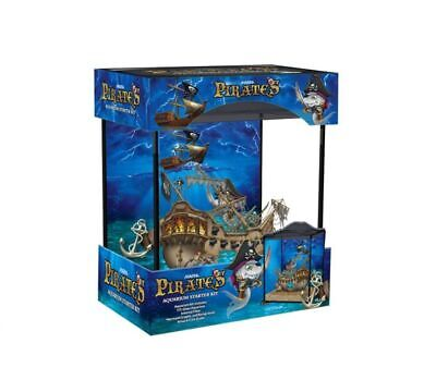Marina Pirates Boy Kids Child Aquarium Glass Fish Tank 17L Coldwater Tropical