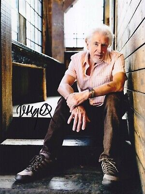 John Mayall Very Rare Amazing In Person Signed W/proof Coa