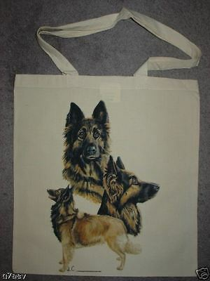 Belgian Shepherd Dogs ( Tervuren ) On A Tote Bag