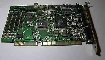 OPTi 82C929A ExpertMedia MED2000 Ver1.0 Sound Card - ISA Slot