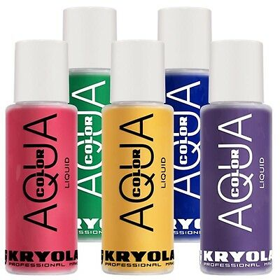 KRYOLAN Aquacolor Liquid Bodypainting Farbe Körperfarbe 150 ml