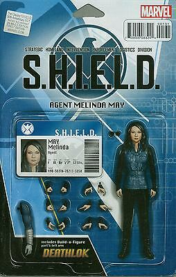 Cavalry #1: S.H.I.E.L.D. 50th ANNIVERSARY ACTION FIGURE VARIANT MARVEL NM
