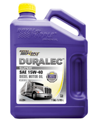 Royal Purple 04154 15W40 SAE Synthetic Motor Oil 1 Gallon With ZDDP Additives