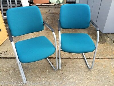 2 x Sedus Visitor Chairs [Pair of Office Meeting Chairs]