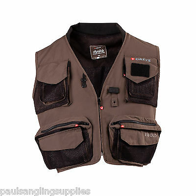 Greys Strata  Fly / Coarse Fishing Vest Waistcoat Multipocket for all tackle