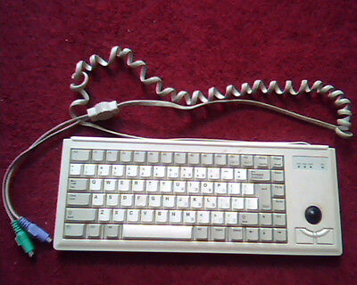 Cherry Keyboard with Trackball GDDG84-4400  - nice condition Vintage