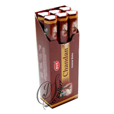 SIA CHANDAN  Incense Sticks (20 Sticks x 6 Tubes) 120 Sticks -2442