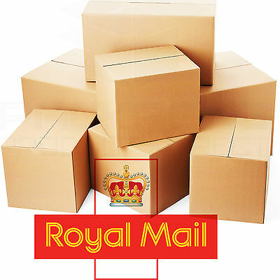 Selection Of Royal Mail Small Parcel Size Postal Cardboard Boxes All Sizes