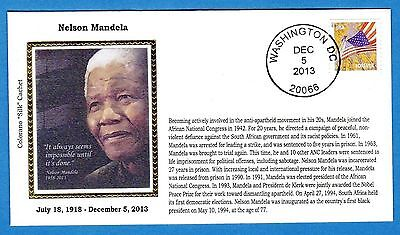 Colorano e1549 Nelson Mandela Memorial Black Heritage History Cover