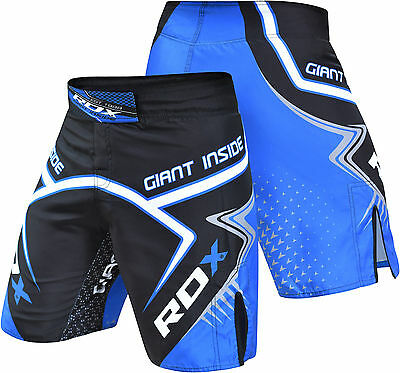 RDX MMA Fight Shorts UFC Cage Kick Boxing Crossfit Muay Thai Gym Martial Arts AU