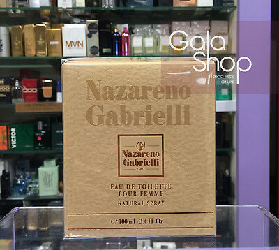 Profumo Donna Nazareno Gabrielli 100Ml Eau De Toilette Natural Spray Edt