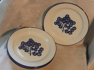 "Retired Set 4 Dansk Norway Mist 10"" Dinner Plates Danish Modern Dan20 Vintage"