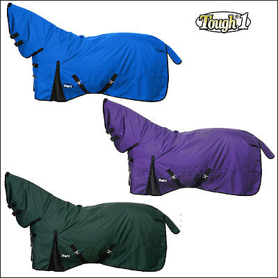 Tough1 1200D 300Gsm Waterproof Poly Full Neck Turnout Horse Winter Blanket 69-84